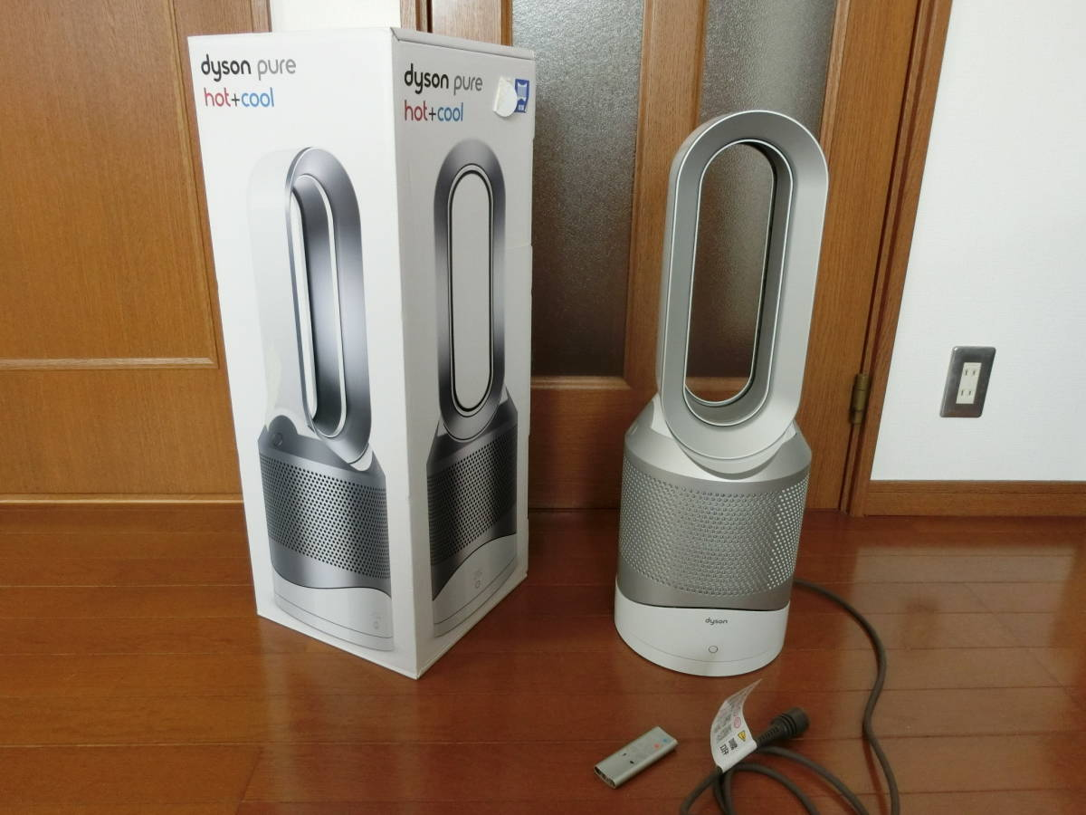 Dyson ダイソン 空気清浄機能付き ファンヒーター dyson Pure Hot + Cool【HP01】
