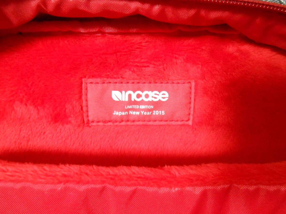 Incase インケース ICON Slim Pack Backpack Apple Lucky Bag 2015 限定 MacBookやiPad、iphoneに_画像6