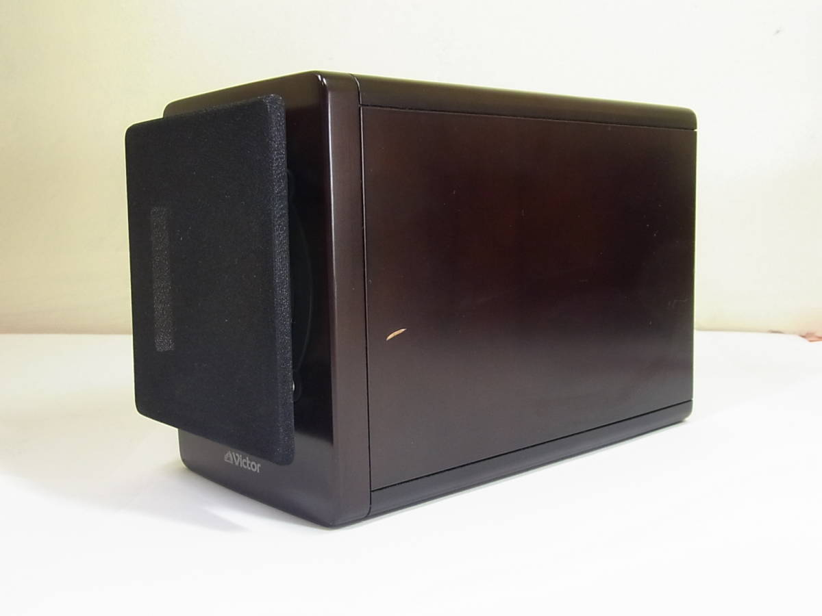 μN1 ビクター EX-AR7 JVC DVDコンポ ウッドコーン 元箱 付属品揃っています ビクター1_画像2
