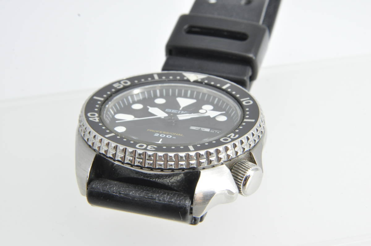 #3597 SEIKO 7C43-7010 Professinal 200M セイコー クォーツ プロフェッショナル 腕時計 42mm_画像9