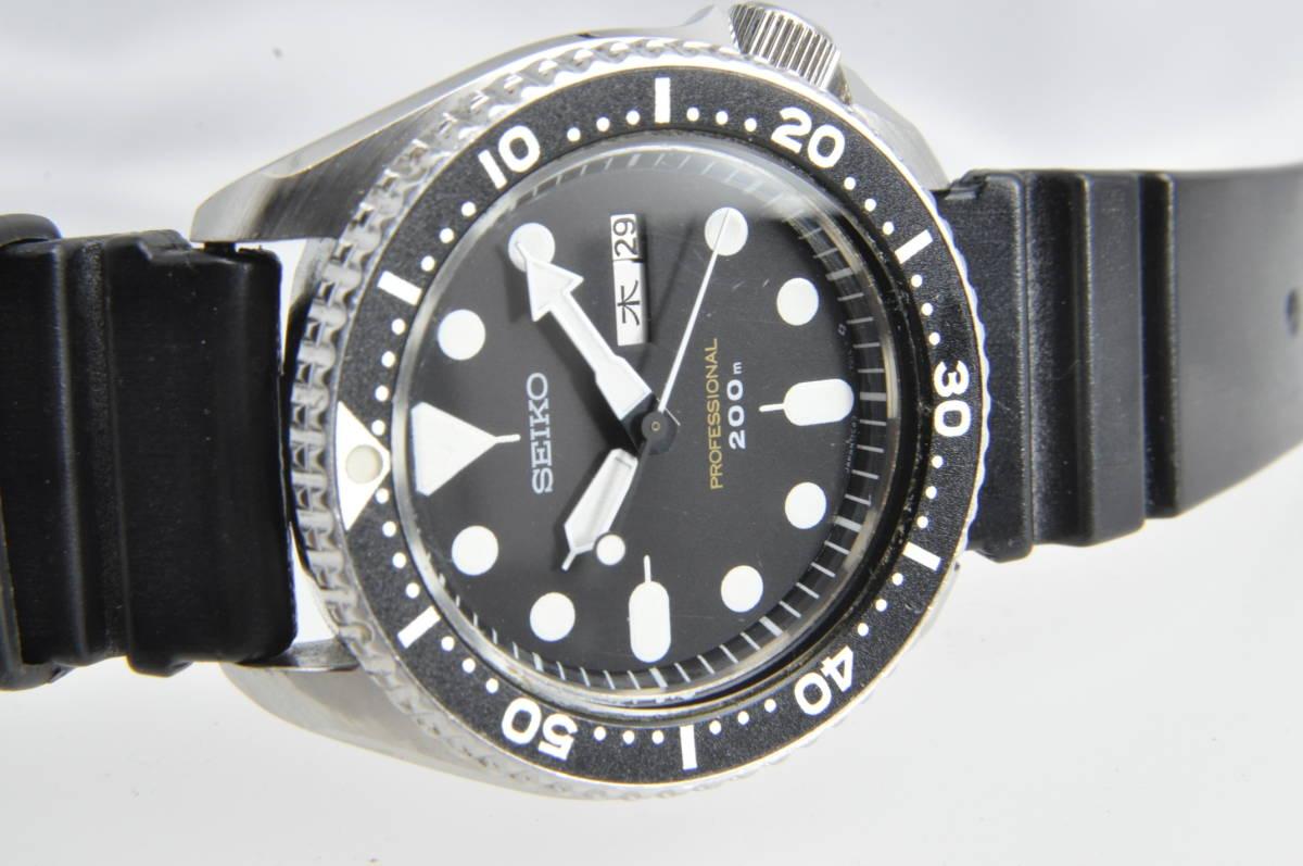 #3597 SEIKO 7C43-7010 Professinal 200M セイコー クォーツ プロフェッショナル 腕時計 42mm_画像5