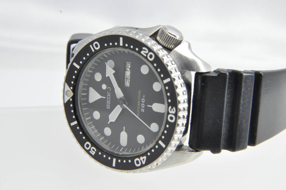#3597 SEIKO 7C43-7010 Professinal 200M セイコー クォーツ プロフェッショナル 腕時計 42mm_画像8