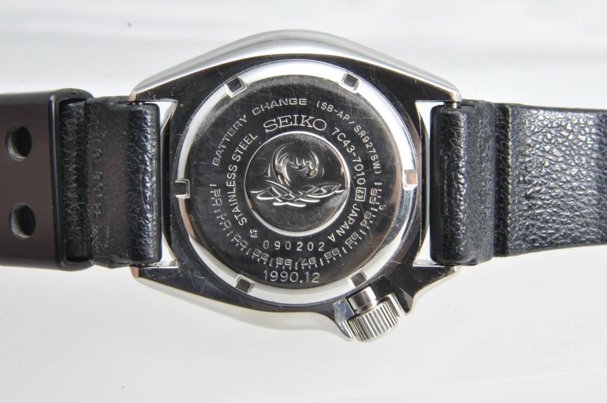 #3597 SEIKO 7C43-7010 Professinal 200M セイコー クォーツ プロフェッショナル 腕時計 42mm_画像4