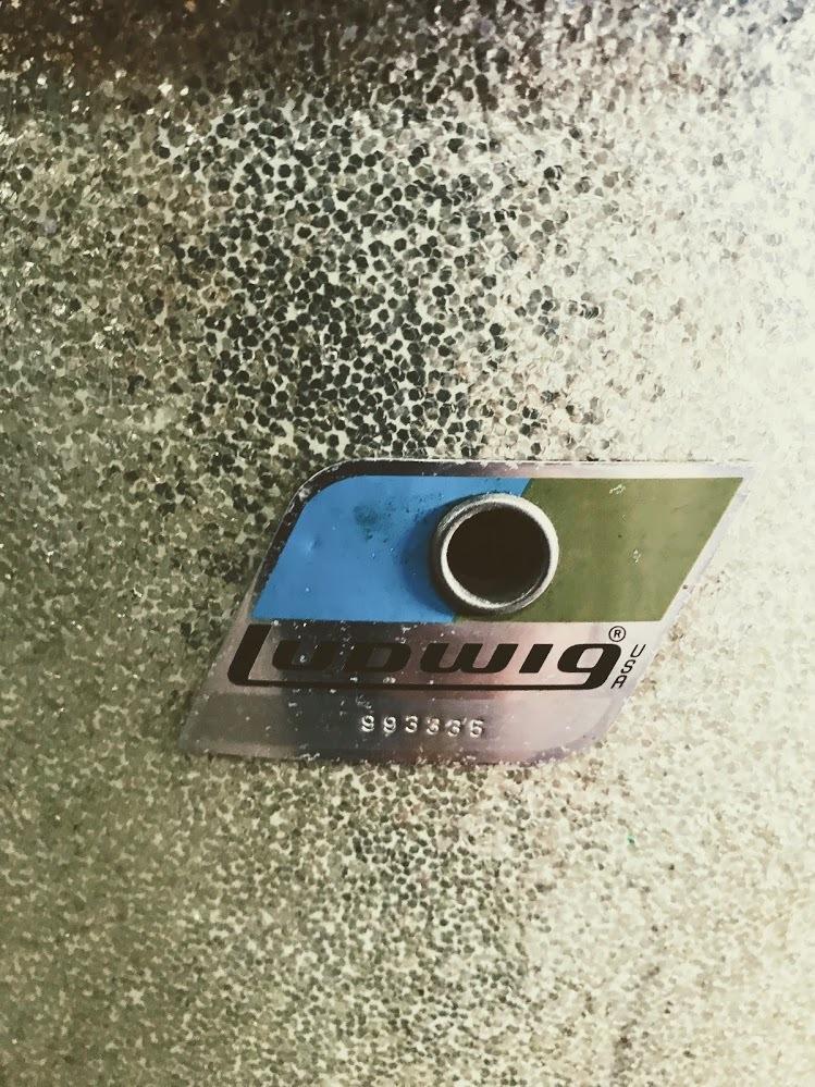 70年代 Ludwig 5点セット シルバース・パークル_画像9