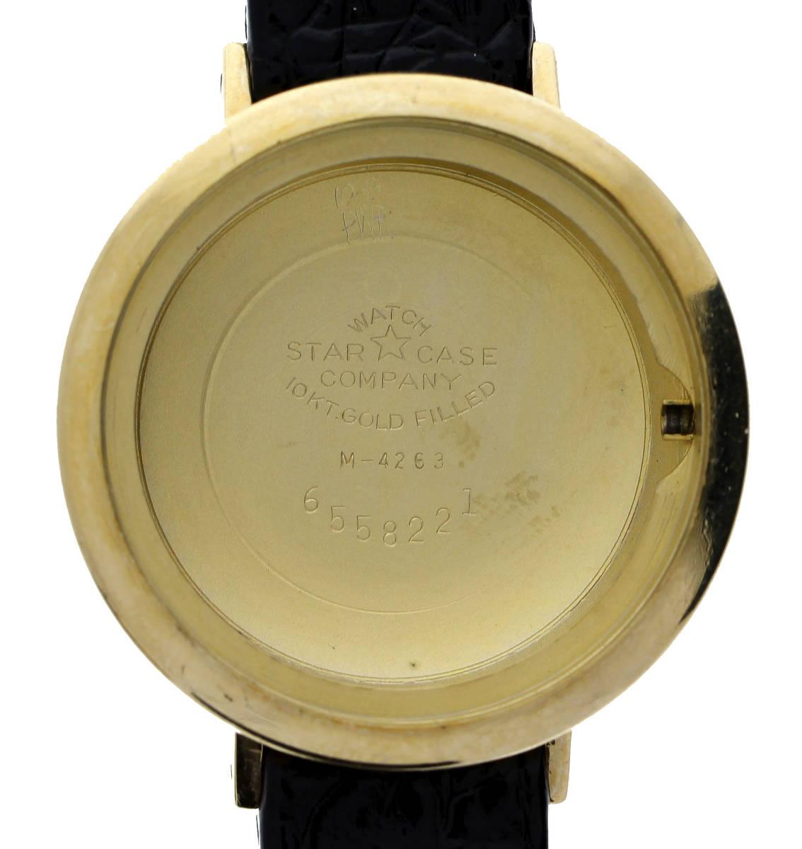値下げ交渉あり!ヴィンテージ1960年代製NIVADAニヴァダ自動巻ウォッチ10K.G.F美品_画像8