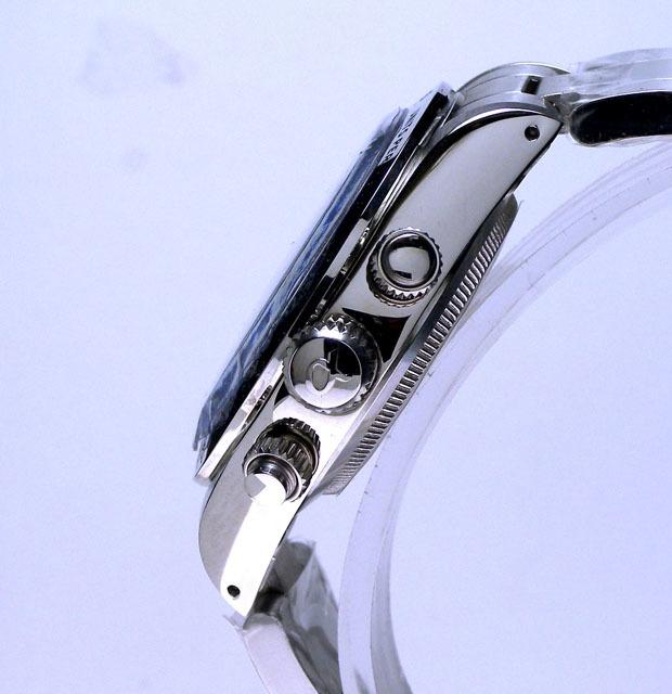 伝説のVenusヴィーナスCal.175ライセンス機械式手巻クロノグラフ黒/アイボリー新品1年保証付_画像5