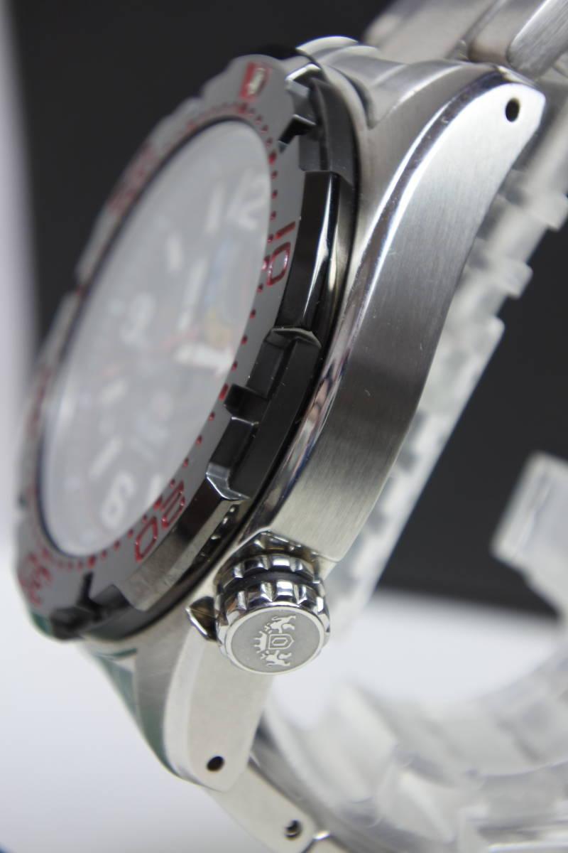 世界限定2,000本日本限定300本 オリエント M-FORCE × STI 24時間耐久レース優勝記念限定モデル 自動巻紳士腕時計 数回使用品 美品_画像5