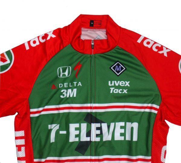 新品 レプリカ プロチームユニフォーム No25 Lサイズ アメリカ サイクルジャージ ウェア メンズ サイクリング 自転車 MTB ロードバイク_画像3