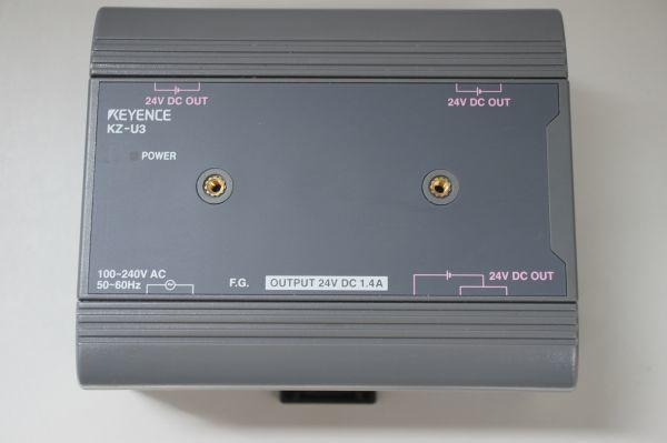 B017906F】KEYENCE キーエンス KZ-U3 AC電源ユニット 出力DC24V1.4A 超小型パッケージタイプ PLC KV シリーズ
