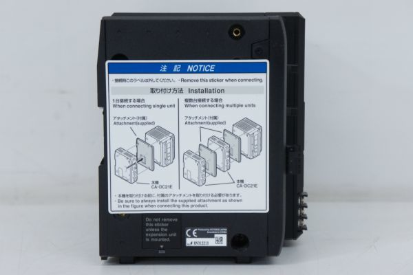 B042308S】KEYENCE キーエンス 画像処理システム XG-8500 CA-DC21E_画像8