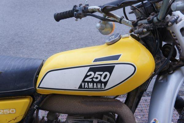 YAMAHA 250 TRAIL 250 ヤマハ レストアベース_画像3