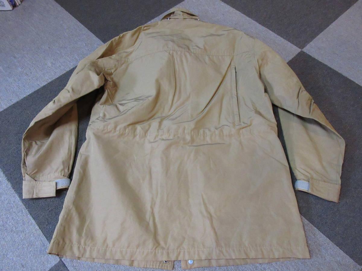 90s 日本製 NORTH FACE マウンテンジャケット L ベージュ アルパインジャケット アウトドア ビンテージ マウンテンライト ナイロン_画像2