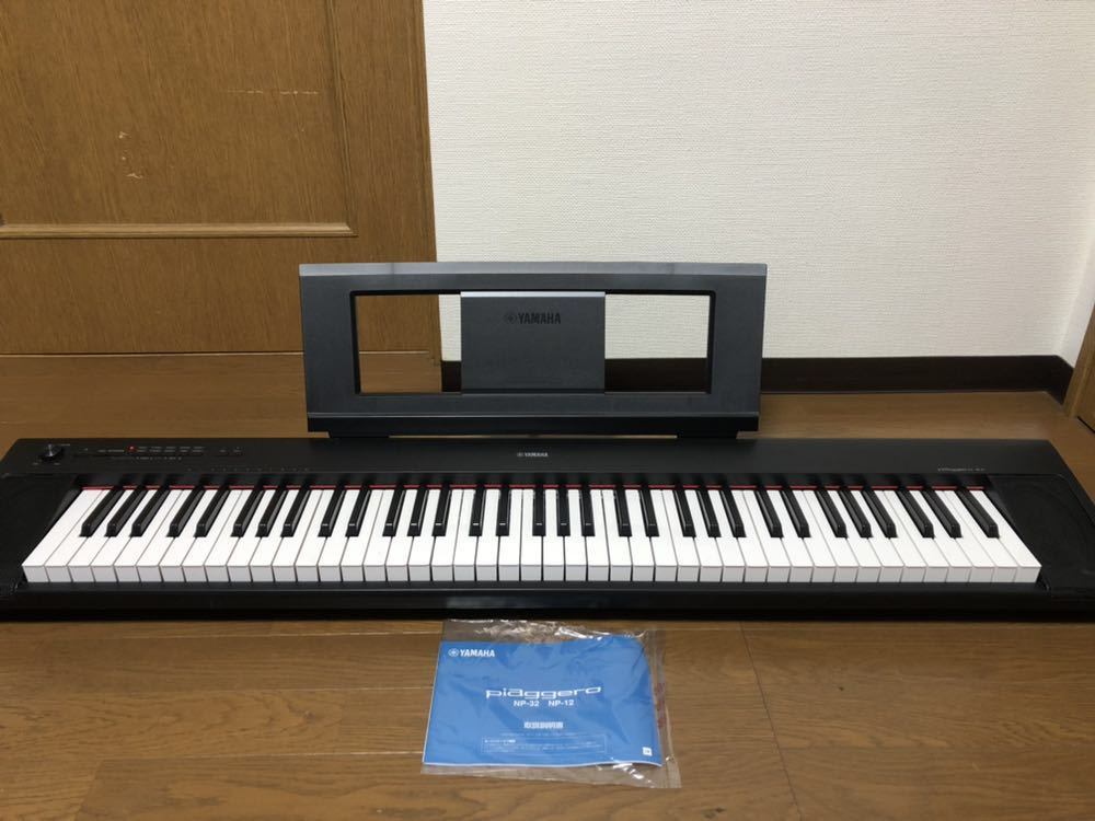 ヤマハ YAMAHA 電子ピアノ piaggera np-32 楽器 中古美品