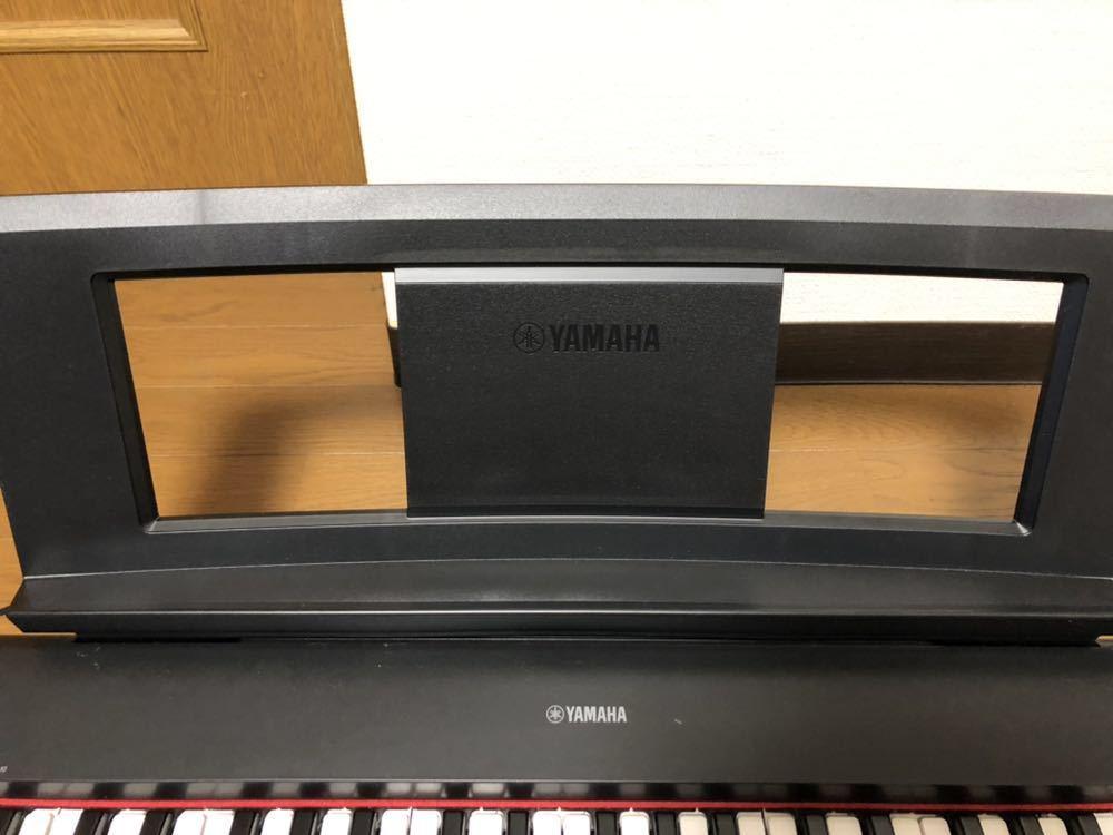 ヤマハ YAMAHA 電子ピアノ piaggera np-32 楽器 中古美品_画像5