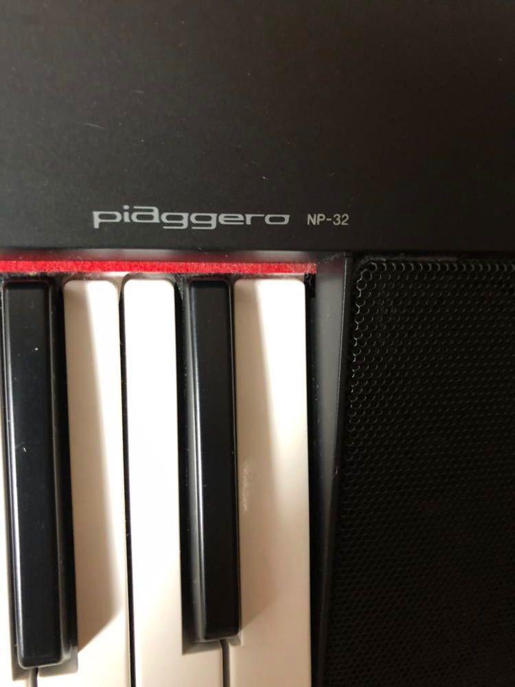 ヤマハ YAMAHA 電子ピアノ piaggera np-32 楽器 中古美品_画像6