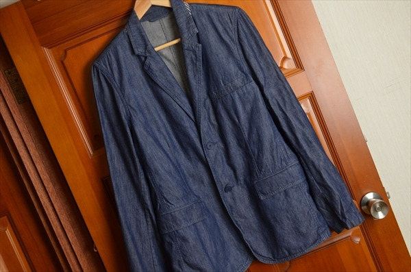 ◎agnes b homme アニエスベーオム2つボタンジャケット.Z-1773