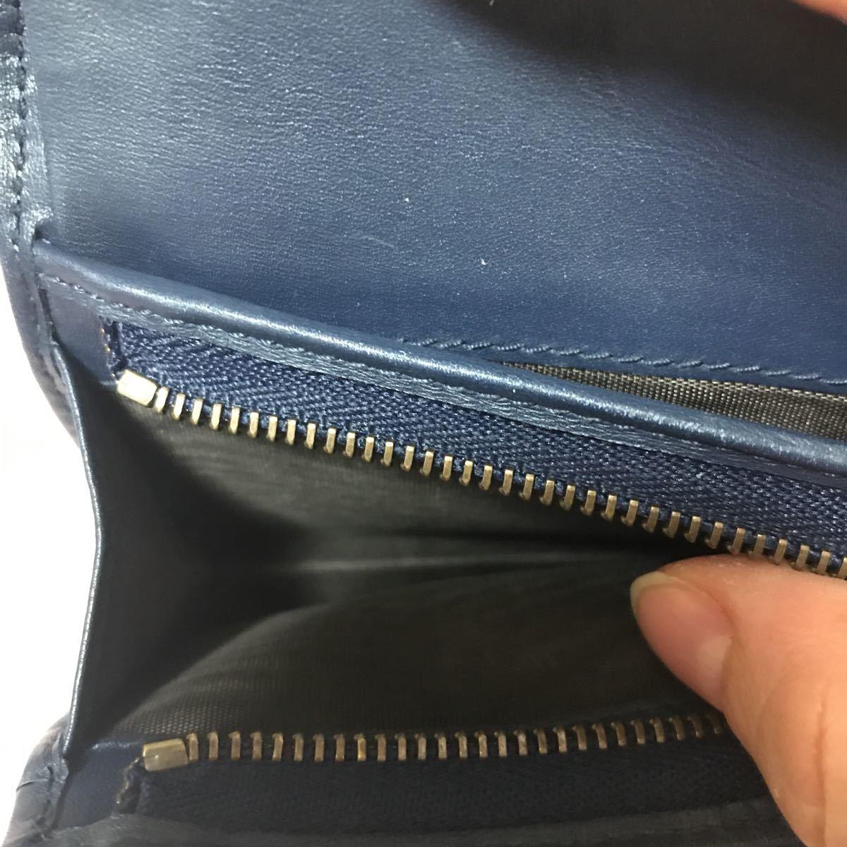 グッチ 日本限定 デニム 二つ折り財布_画像4