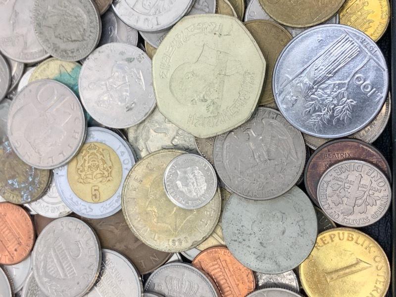 外国貨幣おまとめ 約1380g 未選別_画像6