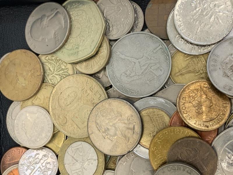外国貨幣おまとめ 約1380g 未選別_画像4