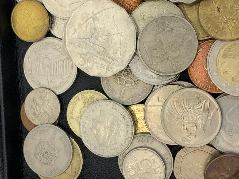 外国貨幣おまとめ 約1380g 未選別_画像2