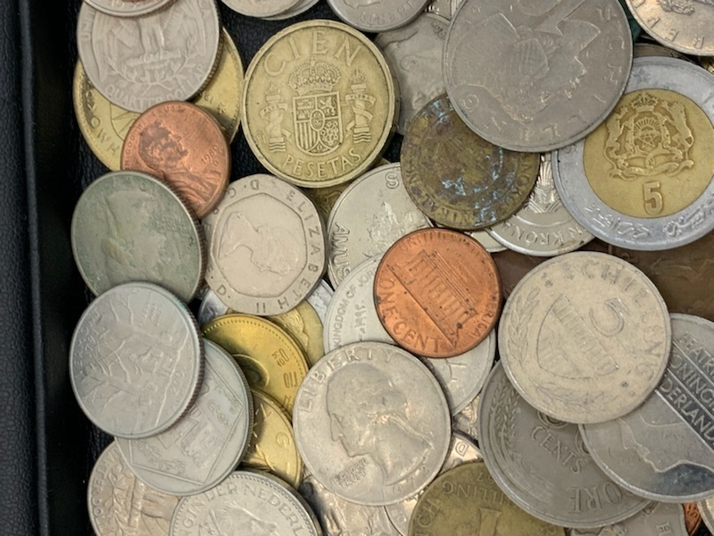 外国貨幣おまとめ 約1380g 未選別_画像3