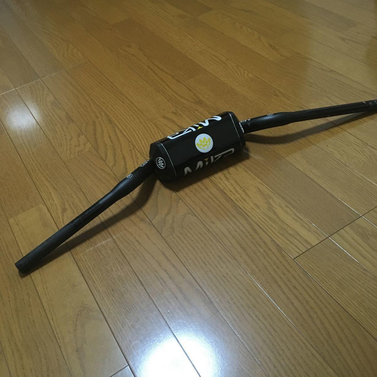 ミカメタル 28.6 YZ系 テーパーバーハンドル 検/モトクロス/モタード/CRF/RM-Z/WR/KX/250/450/レンサル/ZETA