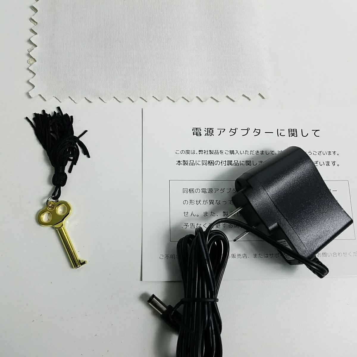 ■売切■ワインディングマシーン 腕時計 自動巻き時計 時計収納ケース ぜんまい巻き上げ 鍵付き m932-120_画像10
