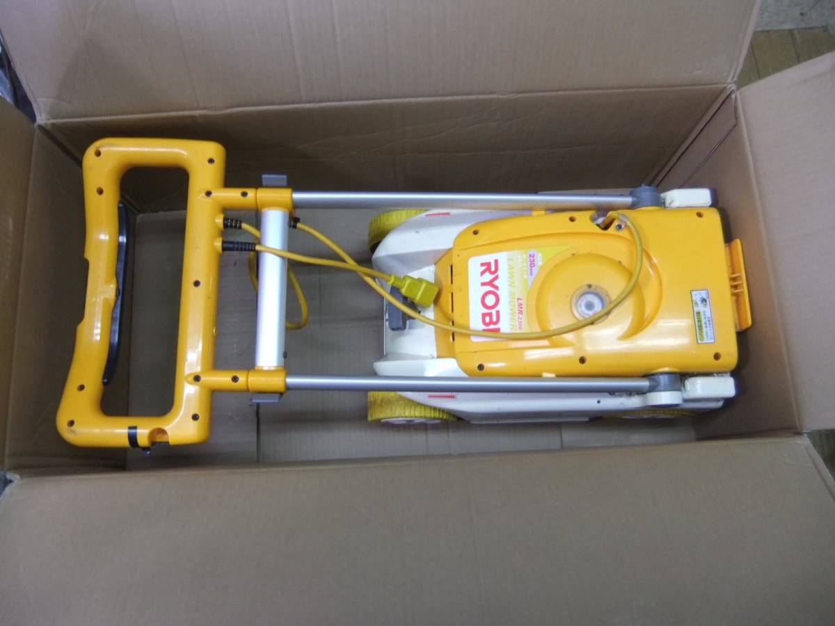 ■送料無料■リョービ (LMR-2300) 芝刈機 230mm USED t212-160_画像2