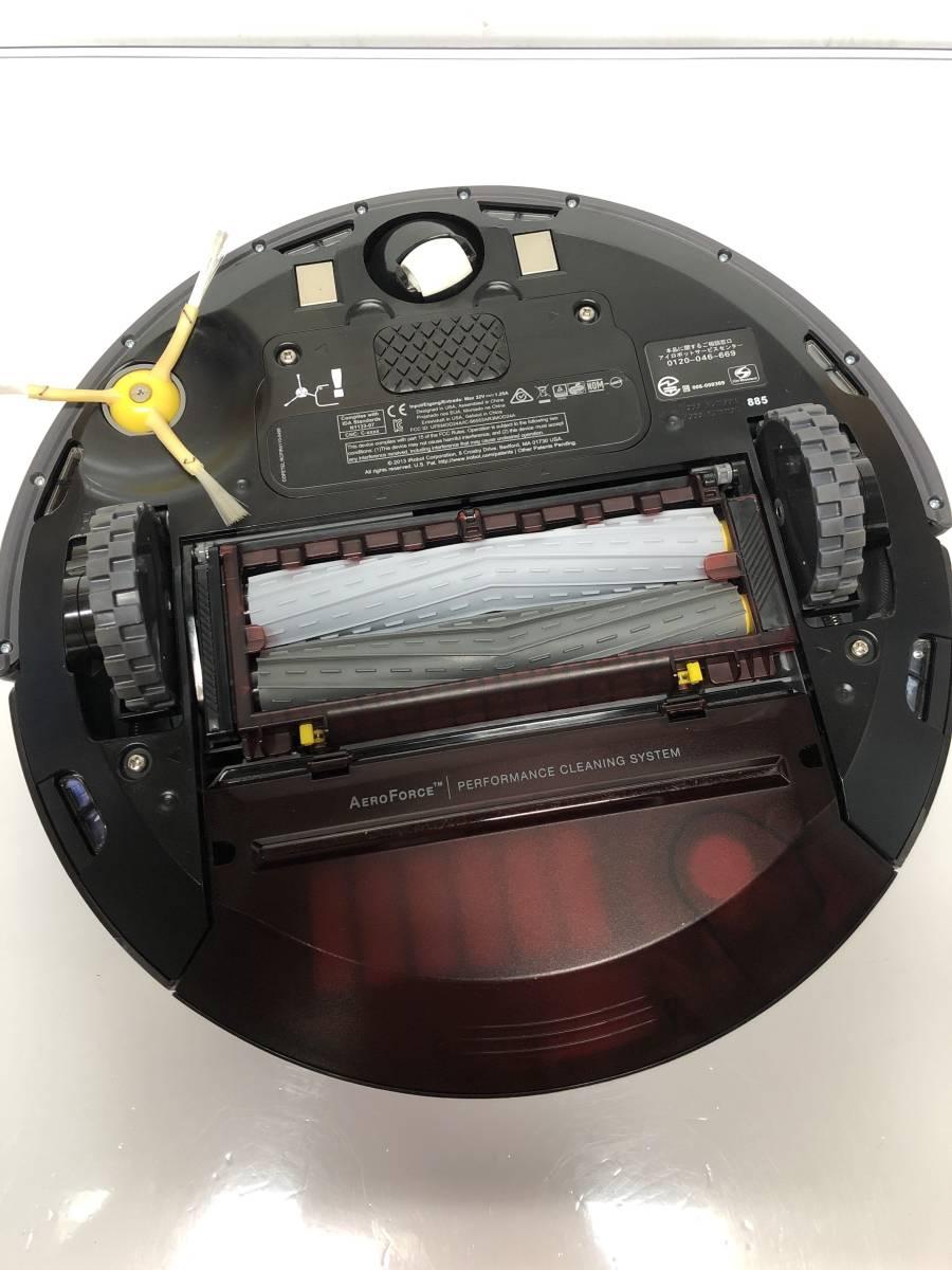 車輪十分山。★15年製★iRobot Roomba★ロボット掃除機★ルンバ885★(1)即決送料無料。_画像6