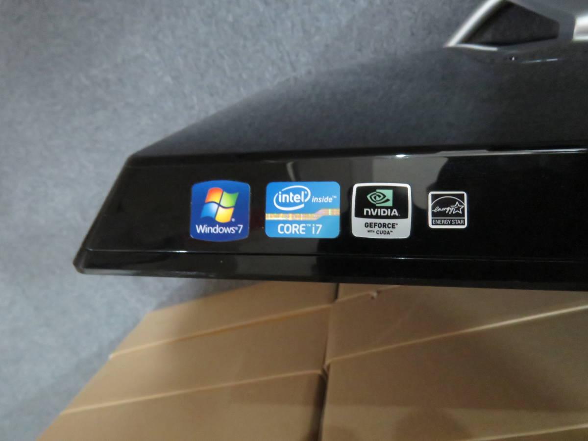 ★中古良品★限定1台限り VAIO Lシリーズ VPCL21AFJ 最新Win10 爆速Core i7-2820QM 8GB 新品大容量HDD2TB GT540M Office搭載 高解像度_画像3