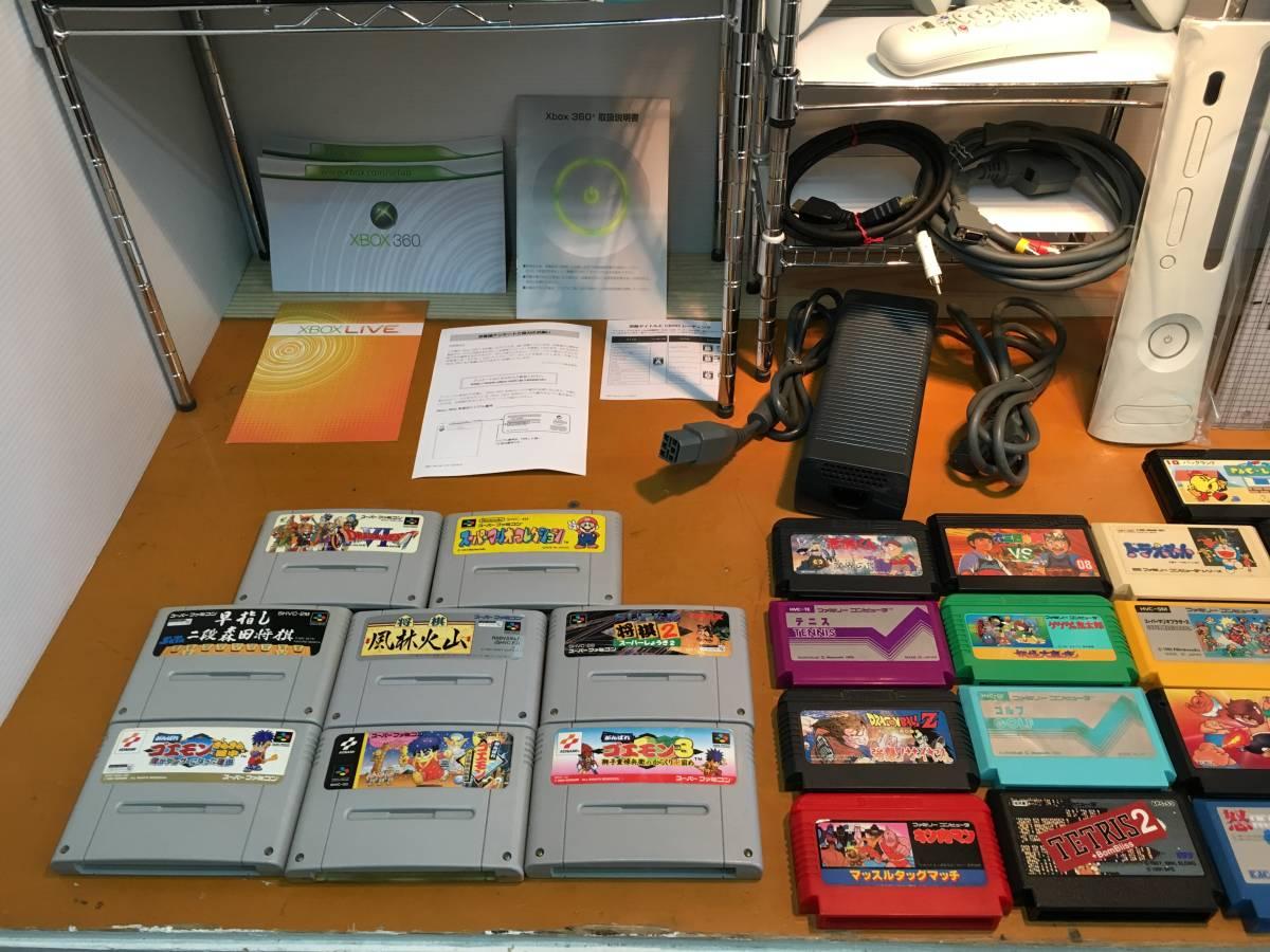 ゲーム 本体 ソフト ハンコン ポータブルゲーム機 フィギュア ぬいぐるみ ファミコン スーファミ XBOX360 マリオ ドラクエ FF ロックマン _画像7