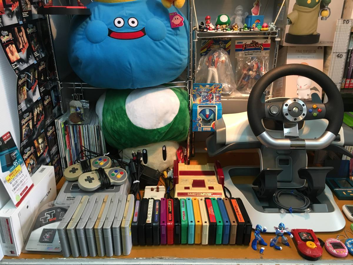 ゲーム 本体 ソフト ハンコン ポータブルゲーム機 フィギュア ぬいぐるみ ファミコン スーファミ XBOX360 マリオ ドラクエ FF ロックマン _画像2
