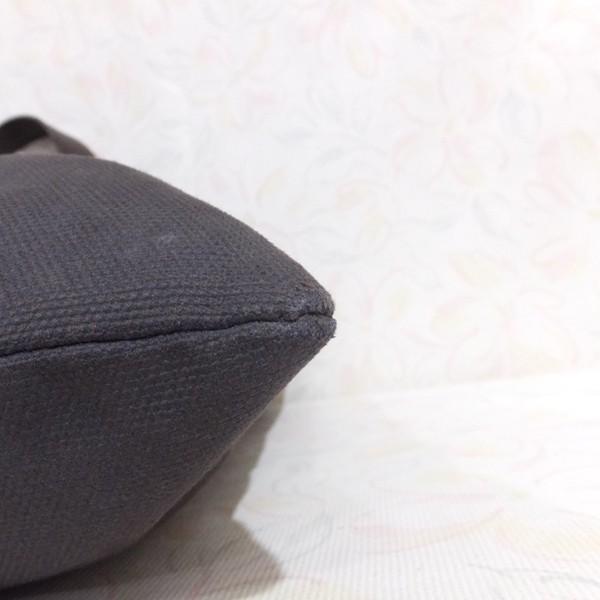 ◆本物◆BVLGARI ブルガリ バッグ メンズ トートバッグ 肩掛け可 最大42.5cm キャンバス レザー ブラウン_画像10