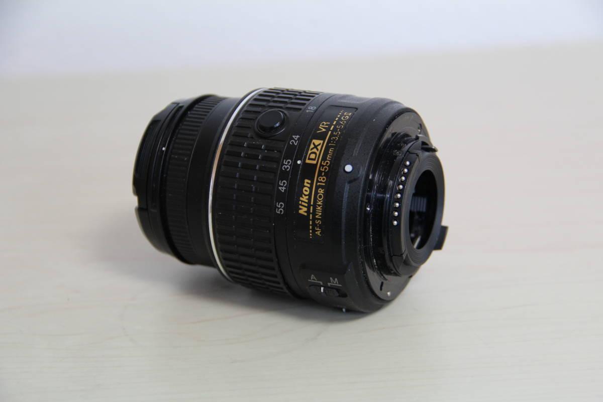 ニコン(NIKON) デジタル一眼レフカメラD5500 2416万画素,ダブル・ズームキット、ブラックボデイ、3.2型液晶タッチパネル、中古品_画像4