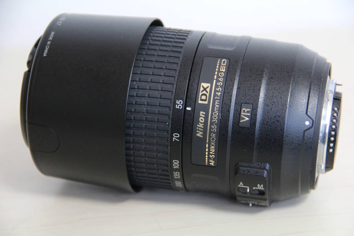 ニコン(NIKON) デジタル一眼レフカメラD5500 2416万画素,ダブル・ズームキット、ブラックボデイ、3.2型液晶タッチパネル、中古品_画像5