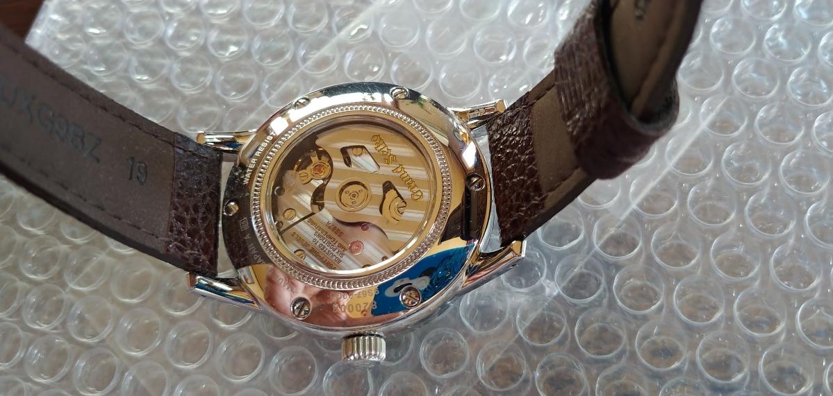 超美品 腕時計グランドセイコー 自動巻 時計 品番 SBGL017 機種番号 9S67 ムーブメント製造連番 202657 オーバーホール済_画像2