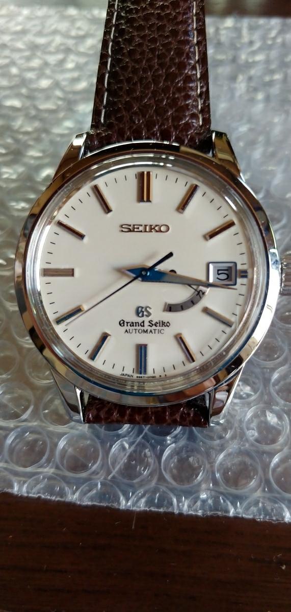 超美品 腕時計グランドセイコー 自動巻 時計 品番 SBGL017 機種番号 9S67 ムーブメント製造連番 202657 オーバーホール済