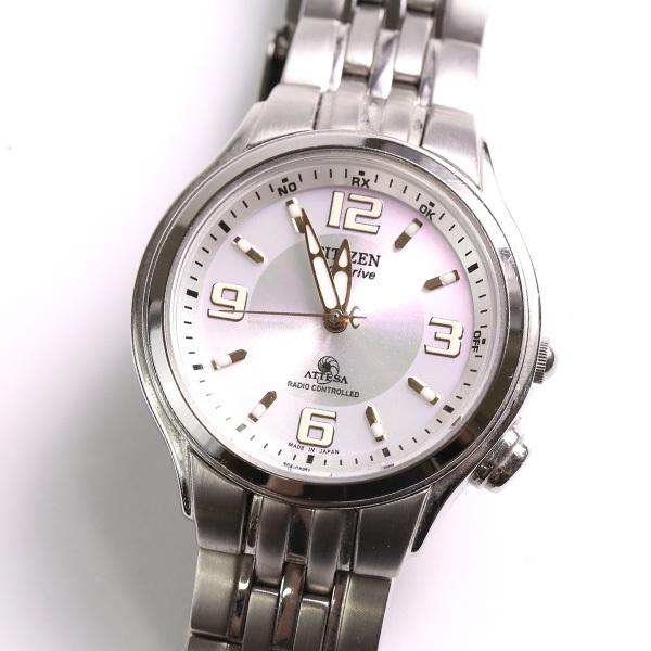 1円~ CITIZEN シチズン ATTESA アテッサ H330-T008682 エコドライブ ソーラー レディース 腕時計 中古