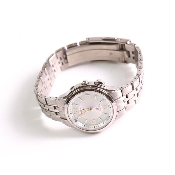 1円~ CITIZEN シチズン ATTESA アテッサ H330-T008682 エコドライブ ソーラー レディース 腕時計 中古_画像2