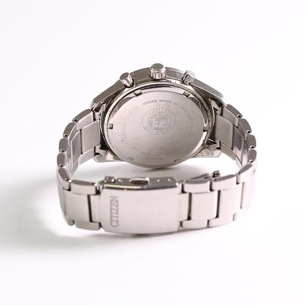 1円~ CITIZEN シチズン クロノグラフ H500-S061091 ソーラー メンズ 腕時計 中古_画像3