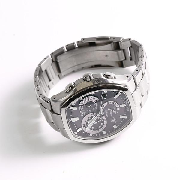 CITIZEN シチズン アテッサ E600-T006361 エコドライブ メンズ 腕時計 中古_画像2