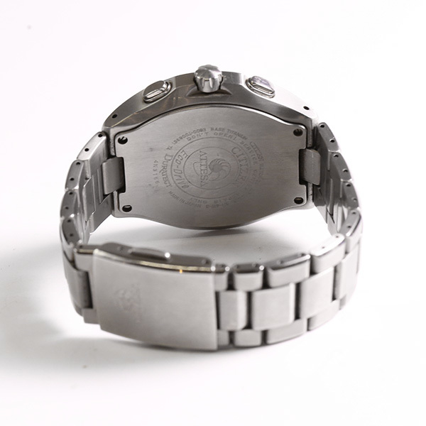 CITIZEN シチズン アテッサ E600-T006361 エコドライブ メンズ 腕時計 中古_画像3