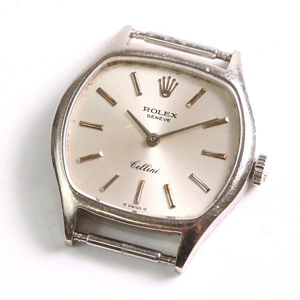 1円~ ROLEX ロレックス チェリーニ 3801 39番台 18K 750 19.22g 手巻き ヘッドのみ レディース 腕時計 中古_画像1