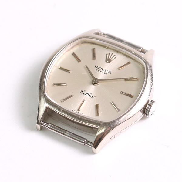 1円~ ROLEX ロレックス チェリーニ 3801 39番台 18K 750 19.22g 手巻き ヘッドのみ レディース 腕時計 中古_画像3