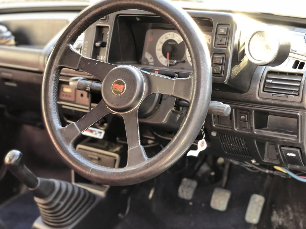 ☆旧車!62年!☆奇跡☆RS-R!DOHC-ICターボ!4WD!5速!オリジナル健在!二度と会えないシリーズ!CC72V!_画像5
