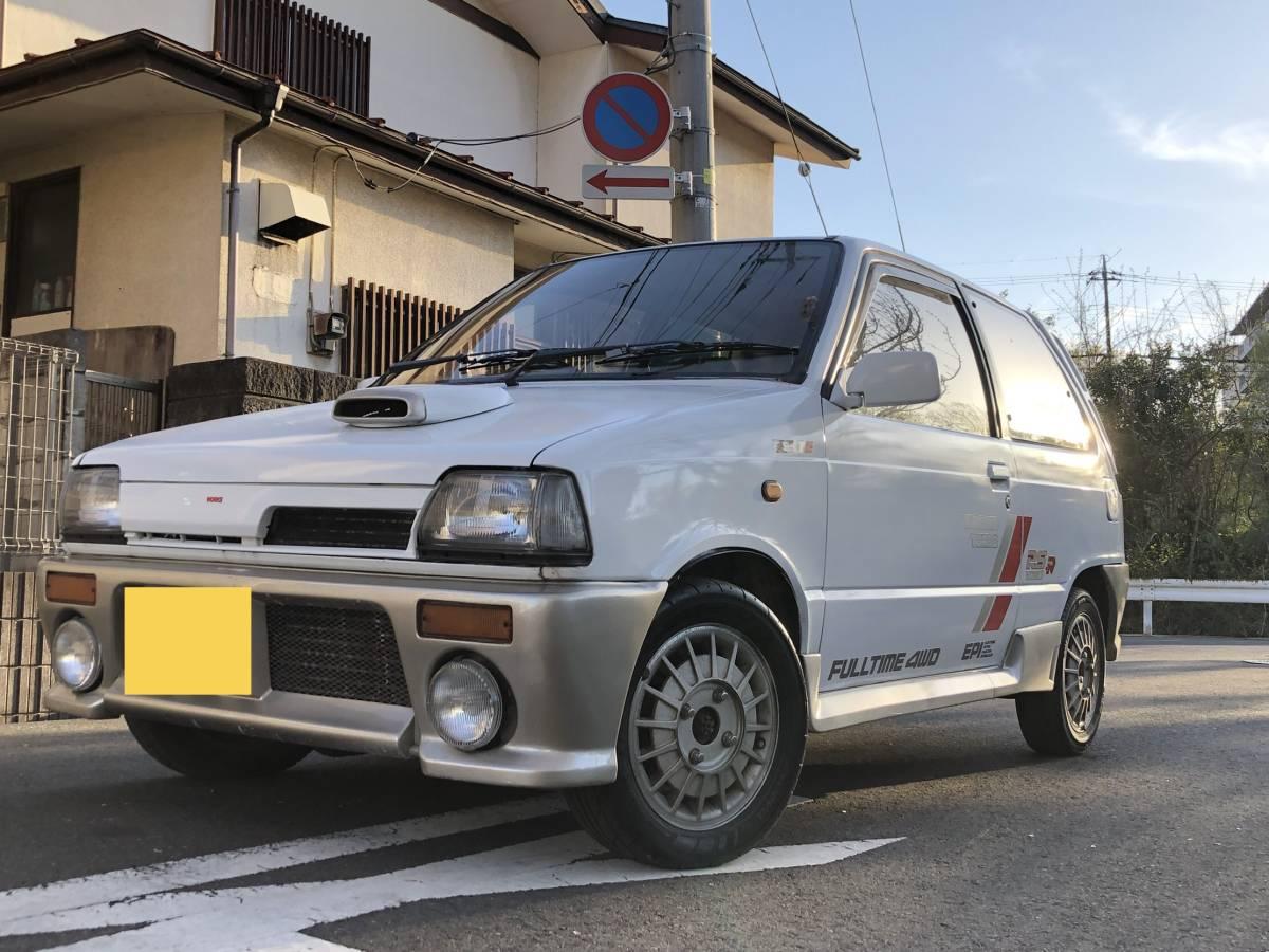 ☆旧車!62年!☆奇跡☆RS-R!DOHC-ICターボ!4WD!5速!オリジナル健在!二度と会えないシリーズ!CC72V!