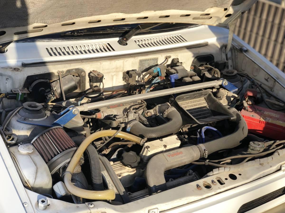 ☆旧車!62年!☆奇跡☆RS-R!DOHC-ICターボ!4WD!5速!オリジナル健在!二度と会えないシリーズ!CC72V!_画像4