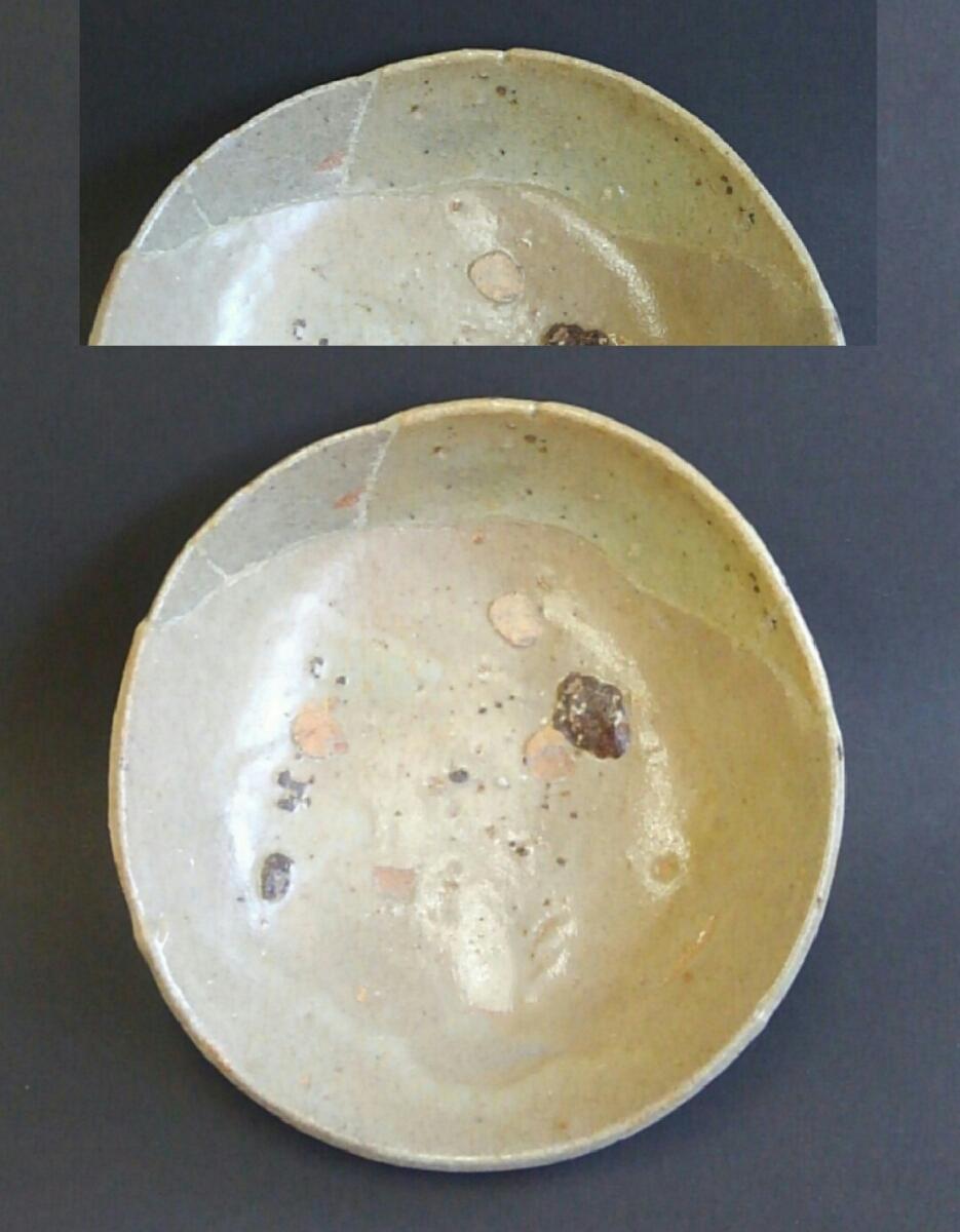 ★値下げ★ 古唐津 桃山時代 皿 陶片 発掘品_画像7