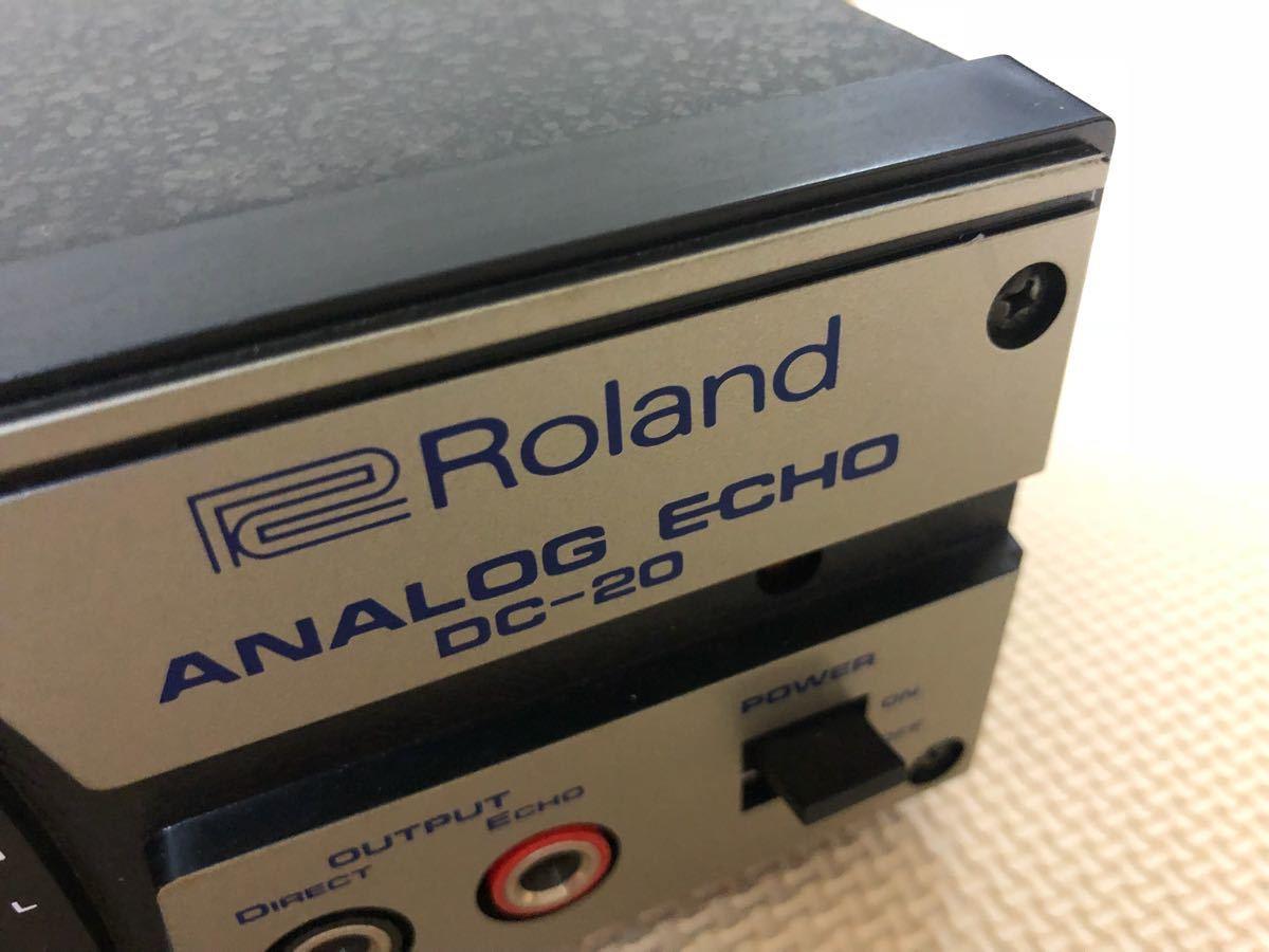Roland DC-20 ANALOG ECHO アナログエコー ディレイ DELAY ジャンク_画像6