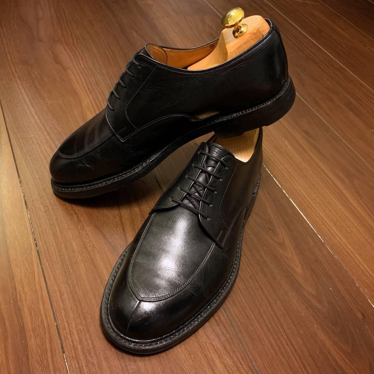 日本製高級紳士靴SCOTCH GRAINスコッチグレインVチップダービー匠グッドイヤーウェルト製法◆大人の本格ビジネスシューズ